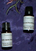 Handcrafted oils for ritual and healing use